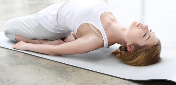 Veckans yinyogaklasser är för mage- och mjältmeridianerna